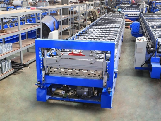 Enhanced verson YX36.5--780 Corrugated panel Forming Machine